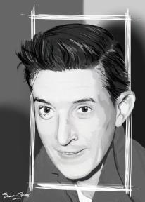 Portrait Drawing: Grandpa Gorey