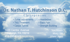 This is just another quick example of some print work. This design was for a Pittsburgh Chiropractor.
