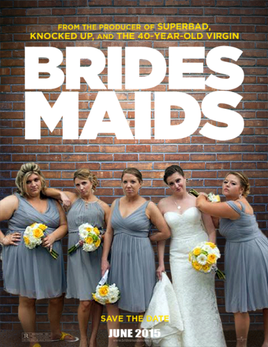 This was a fun personal project I created for my sisters Brides Maids. They had all recreated the poses from the poster for the movie 'Brides Maids,' so I totally had to help them by adding the rest of the posters elements.