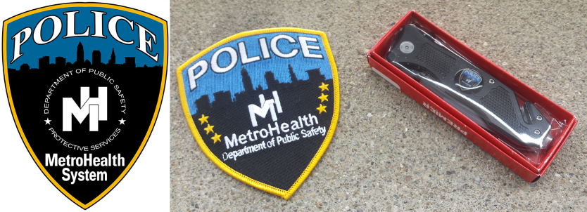 This is a before and after of the new patch for the Metro Health Police. Find out more about this design here: https://shawngorey.wordpress.com/wp-admin/post.php?post=1737&action=edit
